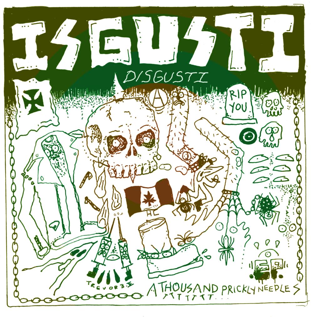 - Disgusti - A Thousand Prickly Needles EPHFI - 007