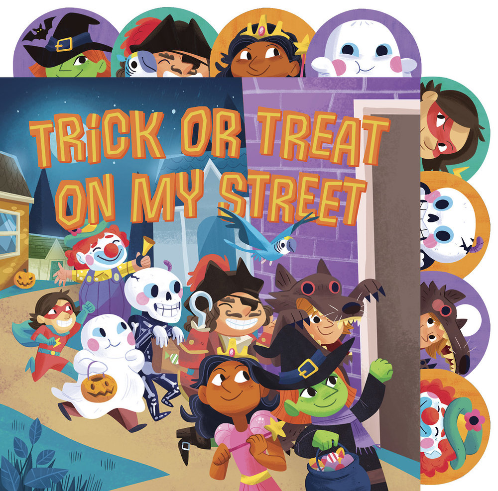 Trick or Treat on My Street