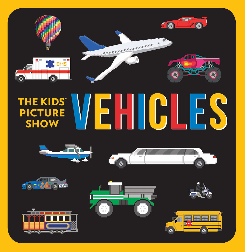 The Kids' Picture Show: Vehicles