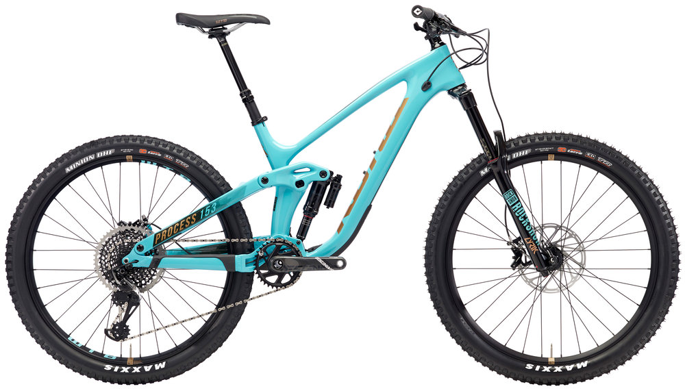 KONA PROCESS 153 275:  160MM OF TRAVEL   GOOD FOR:  PARK, ENDURO, ALL MOUNTAIN   DEMO SIZE:  M
