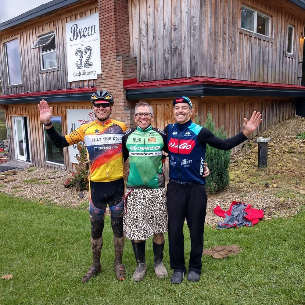 We are on the podium at almost every race we attend representing the brands that support us. Our members race cross country and enduro mountain bikes, off-road triathlon, and cyclocross.