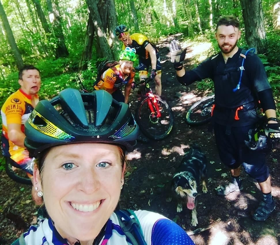 Our team hosts regular no drop group rides for the community on both mountain and road bikes. We believe no-drop rides focused on having fun are the best way to get more butts on bikes.