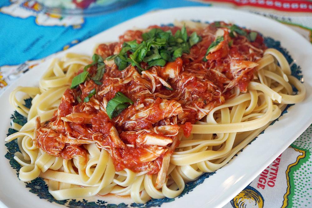 quick crab pasta dina deleasa.jpg