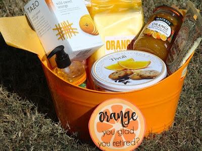 Orange You Glad Gift Basket