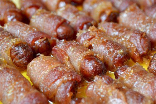 Brown Sugar Bacon Sausages