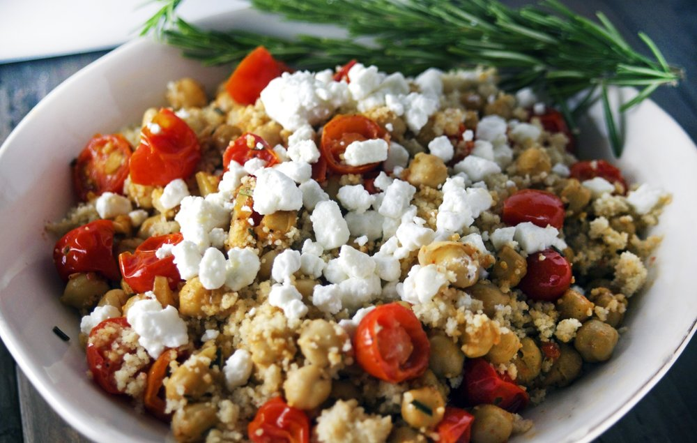 Chickpea Tomato Cous Cous
