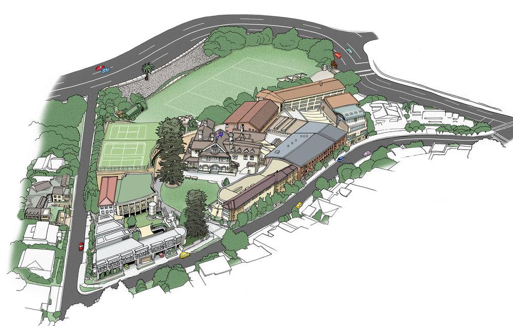 Lew Keilar_Kambala School Aerial Map.jpg