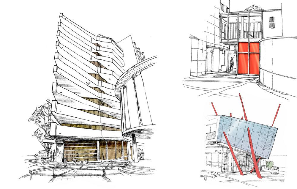 Lew Keilar_St Margarets Precinct buildings.jpg