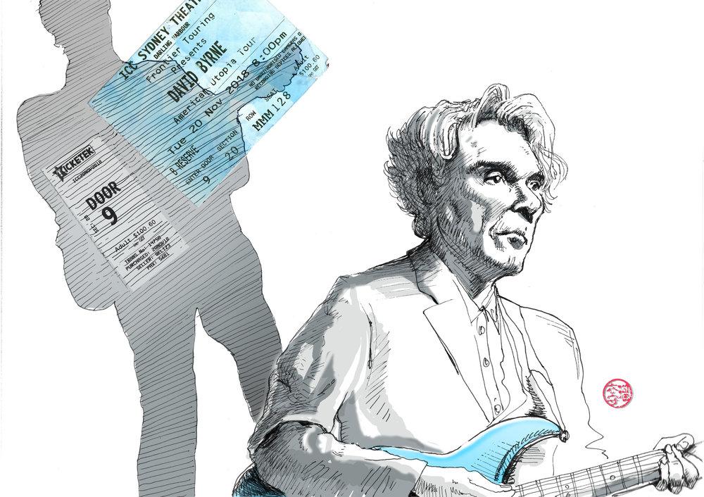 David Byrne portrait | Lew Keilar Illustration.jpg