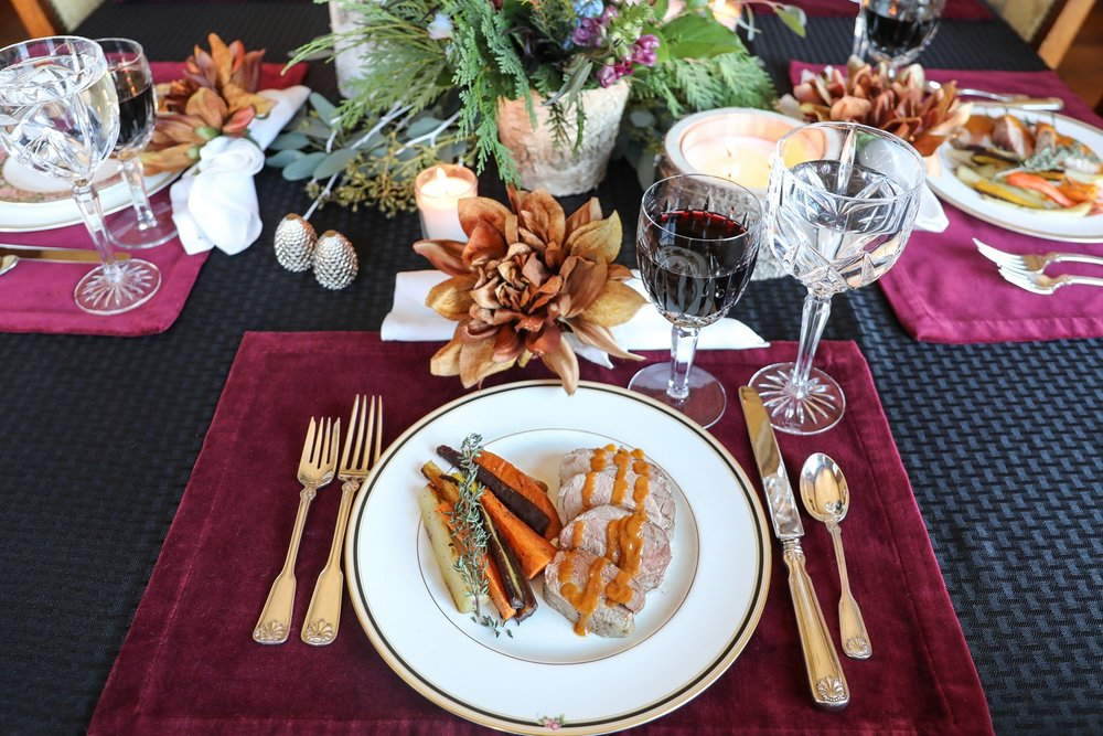 Winter Nights,Winter Lights - Gather friends & family for a Delicious Dinner
