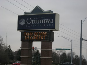 Ottumwa Sign