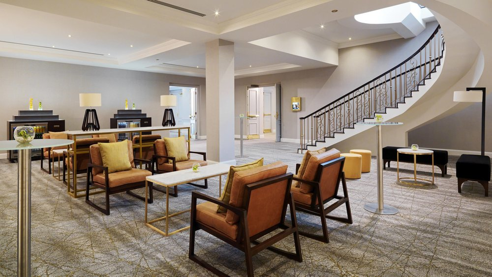 The pre-function lounge is the perfect choice for coffee breaks.