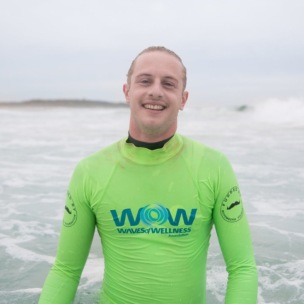 BENJAMIN KEMPProgram Facilitator - Ben has studied a Bachelor of Occupational Therapy (Honours) at the University of Newcastle. Ben is an Occupational Therapist whose passion is helping others improve their mental wellbeing. Ben began surfing in Newcastle when his dad dragged him out the back as a young boy and was instantly hooked. The ocean is where Ben loves to kick-back, make new friends and keep healthy. He's never been more stoked than when he gets to share that love with everyone at WOW. Despite trying to maintain his cool 'surfer boy' facade, Ben admits that he's a giant nerd who is totally obsessed with board games, and hopes to one-day turn pro…in board gaming!