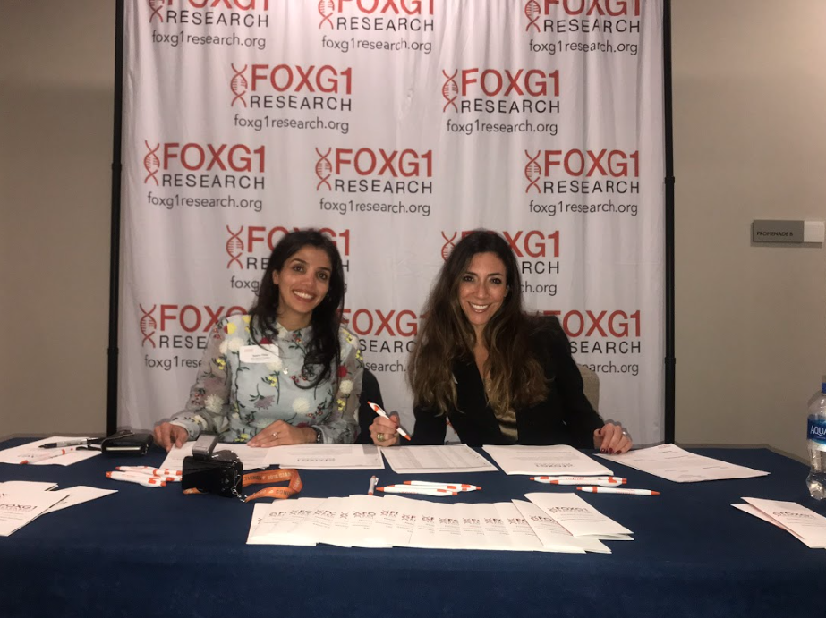 FOXG1 Research Foundation Co-founders Nasha Fitter and Nicole Johnson