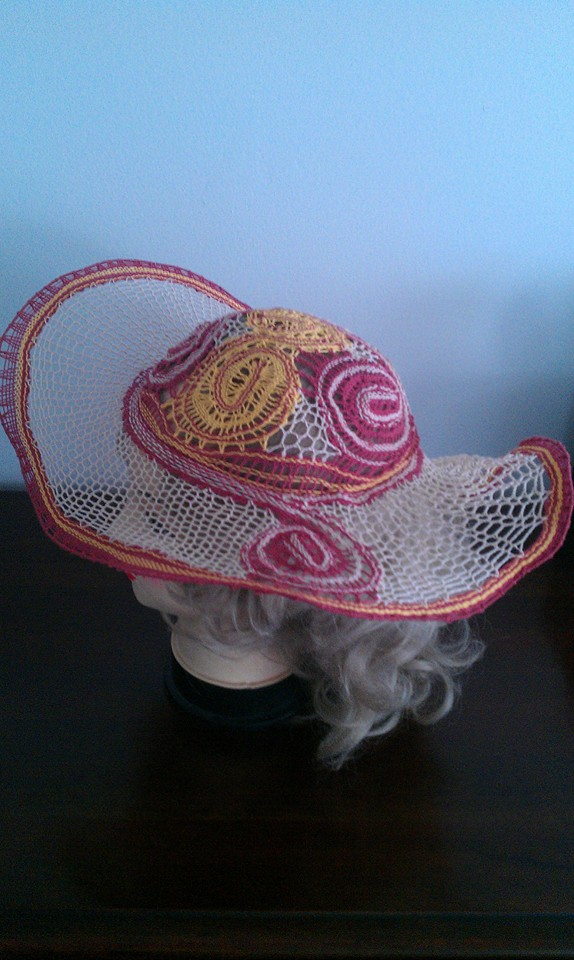Daniela Banatova Lace Gallery Art five lace hat