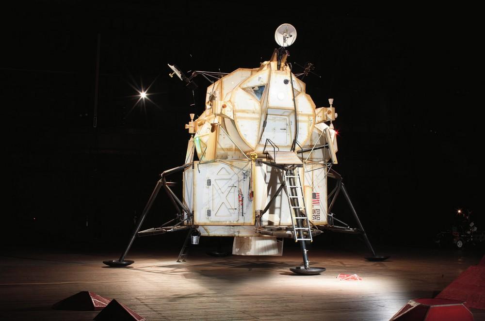 LEM, Space Program: Mars, 2012  Courtesy Tom Sachs Studio, photo by Genevieve Hanson
