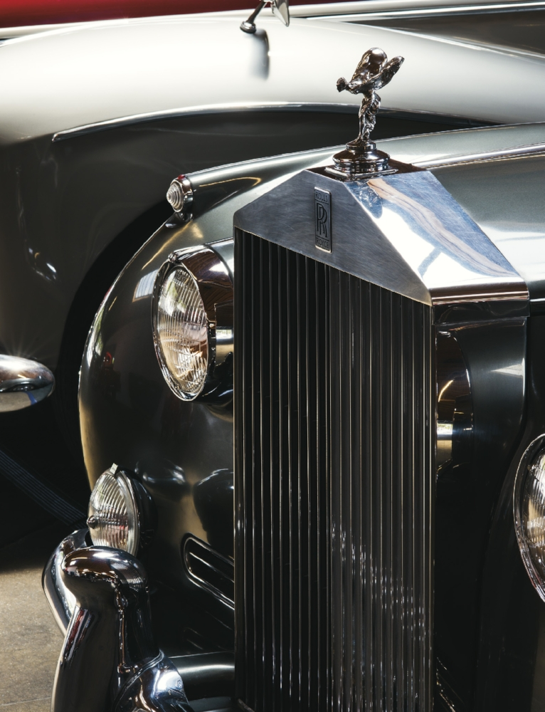 From top: 1956 BENTLEY SI Body by Hooper, 1963 ROLLS-ROYCE Silver Cloud II