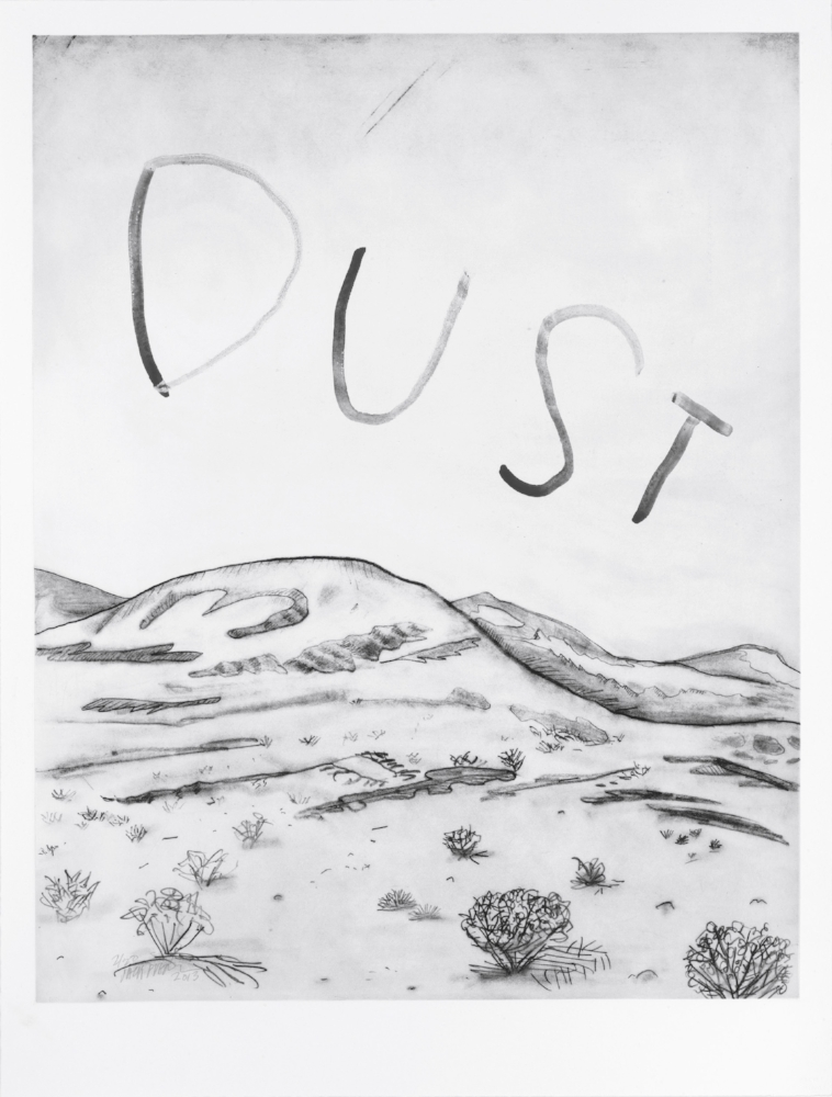 Kelso Dunes (Dust) Courtesy of the artist and Cheim & Read