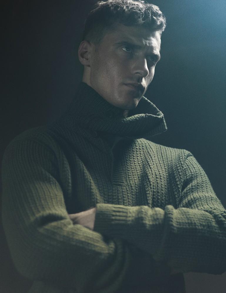 merino sweater BOTTEGA VENETA MEN'S FALL/WINTER 2014