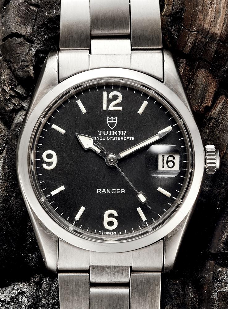 Tudor Prince Oysterdate Ranger, Reference 7966/0 -1970s  Available through manoftheworld.com