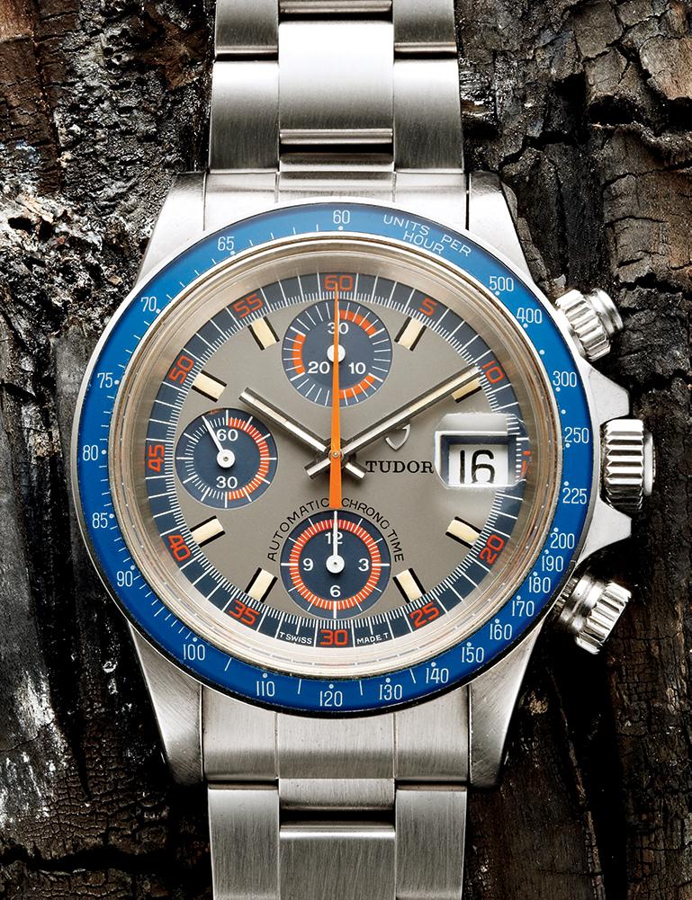 Tudor Monte Carlo Chronograph, Reference 9420/0 - 1970s  Available through manoftheworld.com