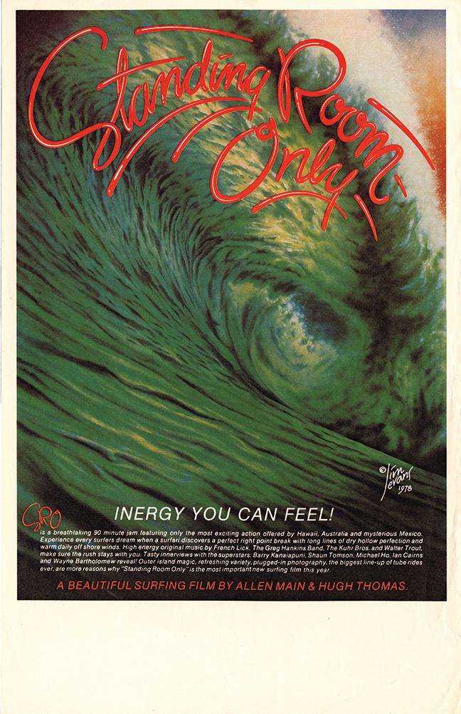 Jim Evans Standing Room Only, 1978 Silkscreen Movie Poster