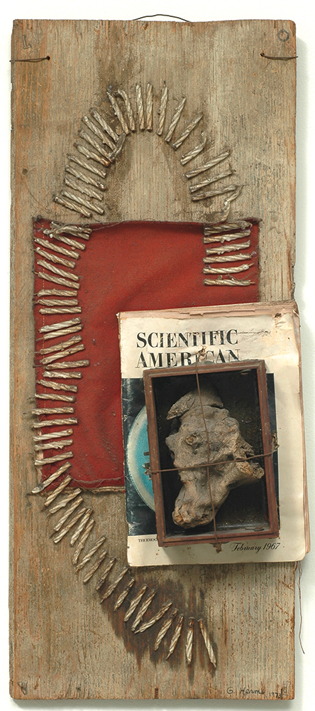 George Herms The Scientific American, 1973 Mixed Media