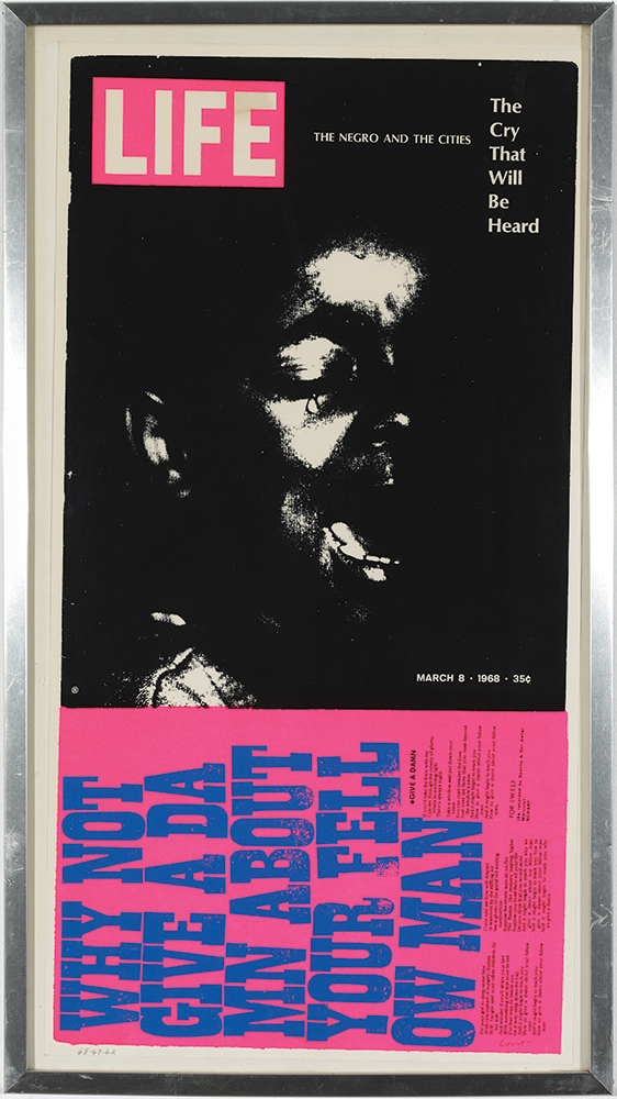 Sister Mary Corita The Cry that will be Heard, 1969 Serigraph