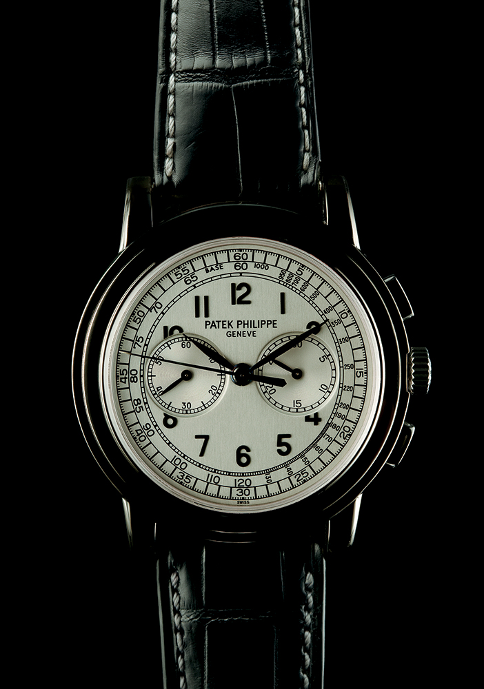 """Patek Philippe 5500 """"Pagoda"""" in white gold, 2000, available through Man of the World"""