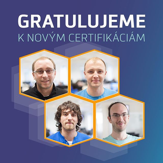 Gratulujeme chalani! #awscertified #davincisoftware #congratulations