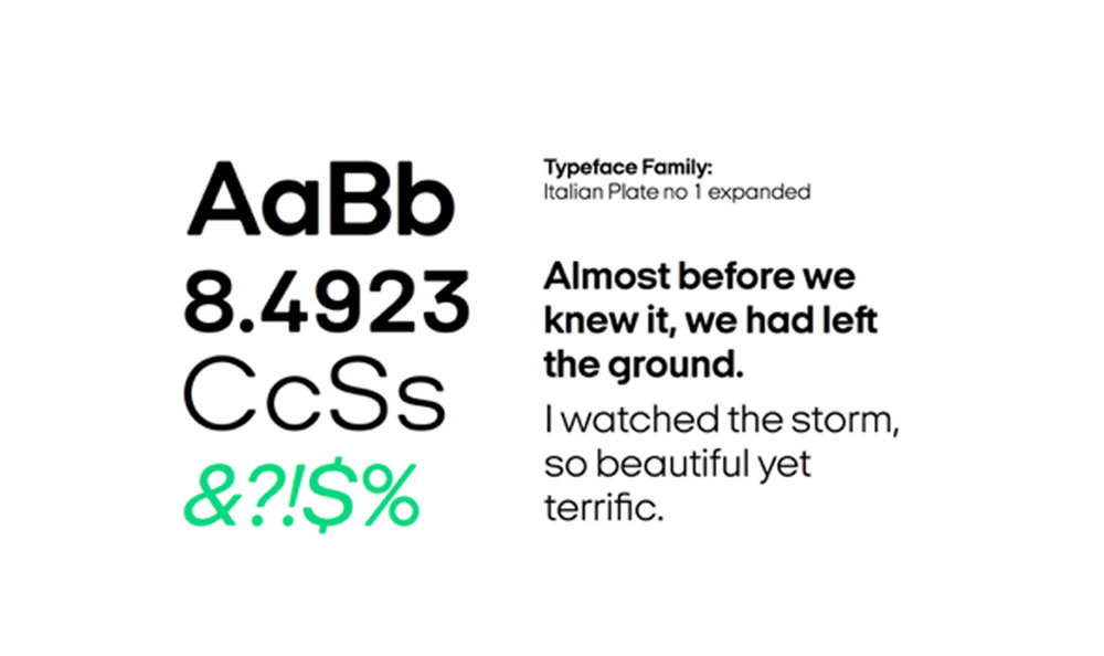 New font design for Surfbird.