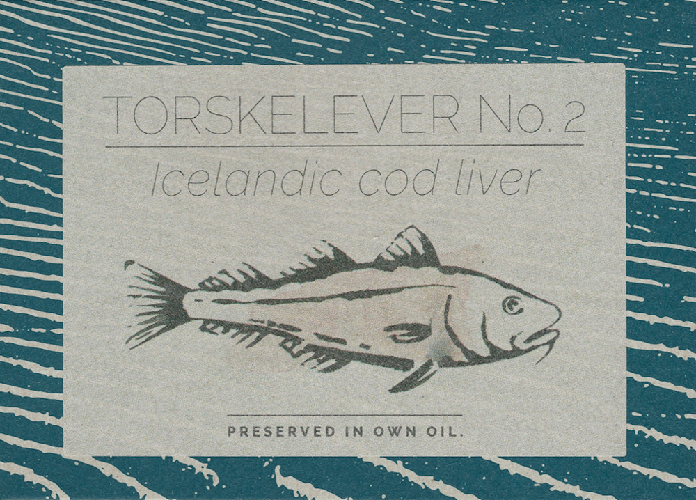 Icelandic cod liver no. 2 Preserved in own oil