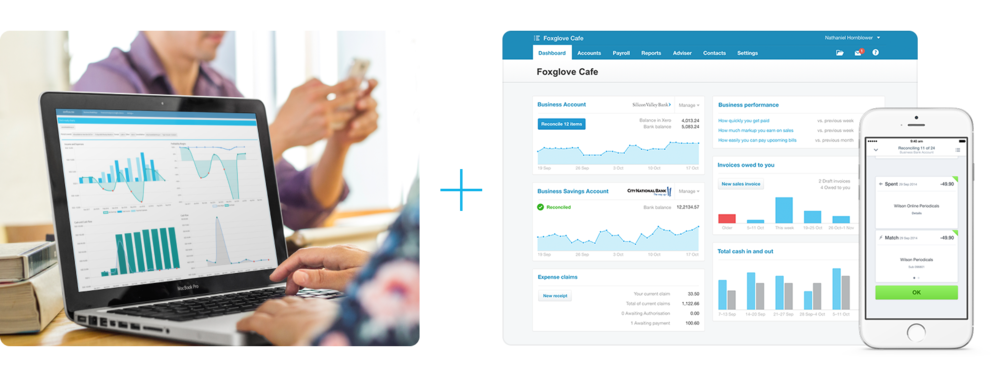 zenflow connects to Xero to extracts insights out of financial statements