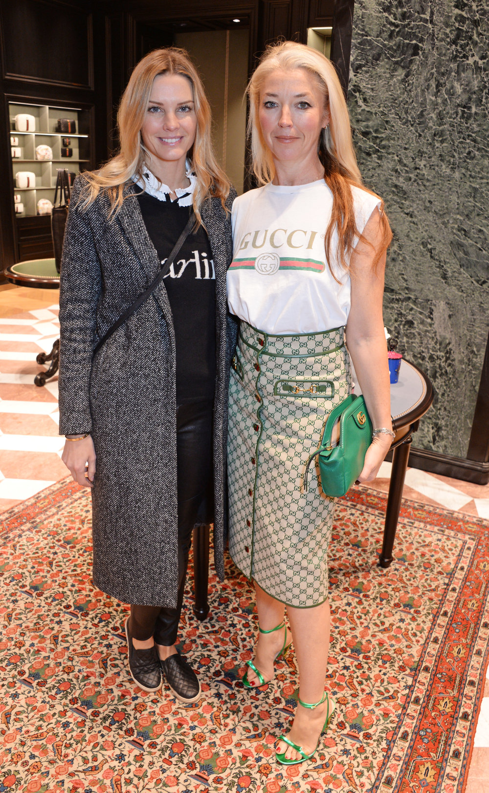 5th Anniversary: Exclusive shopping breakfast at Gucci — - On 5th December, The Lady Garden Foundation celebrated its 5th Anniversary with an exclusive breakfast at Gucci's flagship store on Sloane Street. Celebrating The Lady Garden Foundation milestone in style, it also marked the exciting announcement of an upcoming collaboration between the charity and fashion house in the new year. Hosted by The Lady Garden Foundation Co-founders Tamara Beckwith Veroni, Jenny Halpern Prince, Astrid Harbord, Josephine Daniel and Chloe Delevingne, the well-attended event kicked off at 9am, with the more eager shoppers queuing around the block before the doors even opened. The Lady Garden Foundation supporters were out in force, with Esther Coren, Jamie Winstone, Mary Charteris, Storm Keating, Thea Green, Millie Mackintosh and Tina Hobley enjoying the delicious breakfast canapes and juices, as well as all the incredible craftsmanship that Gucci has to offer. The event raised an amazing £15,000 for the charity.