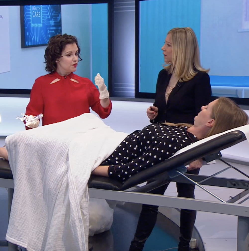 """Chloe Delevingne gets a Smear Test live on BBC - The Lady Garden are unbelievably proud of co-founder Chloe Delevingne for having a cervical smear test on live television, in a bid to combat the stigma around getting checked. Chloe herself discovered abnormal cells when she was 21, but recent figures show that cervical screening is at its lowest levels in two decades, with one in three women not taking their screening tests.The NHS recommend women to get checked every three years, if aged 25 to 49 or every five years if aged 50 to 64. However, the survey published earlier this week suggested that young women are putting off smear tests due embarrassment and fear of being hurt. To dispel these myths, Chloe went live on air saying """"It is a bit nerve-wrecking, but you just need to relax and talk to the doctor about it...It's not painful, it's just weird,""""Well done Chloe!"""
