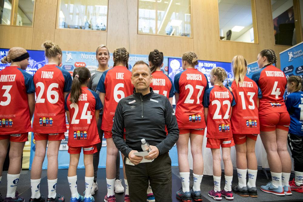Thorir Hergeirsson står foran et nytt mesterskap. Foto: Vidar Ruud / NTB Scanpix