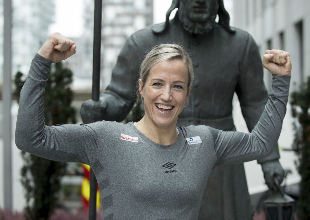 Heidi Løke er tatt ut i EM-troppen. Foto: Vidar Ruud / NTB Scanpix