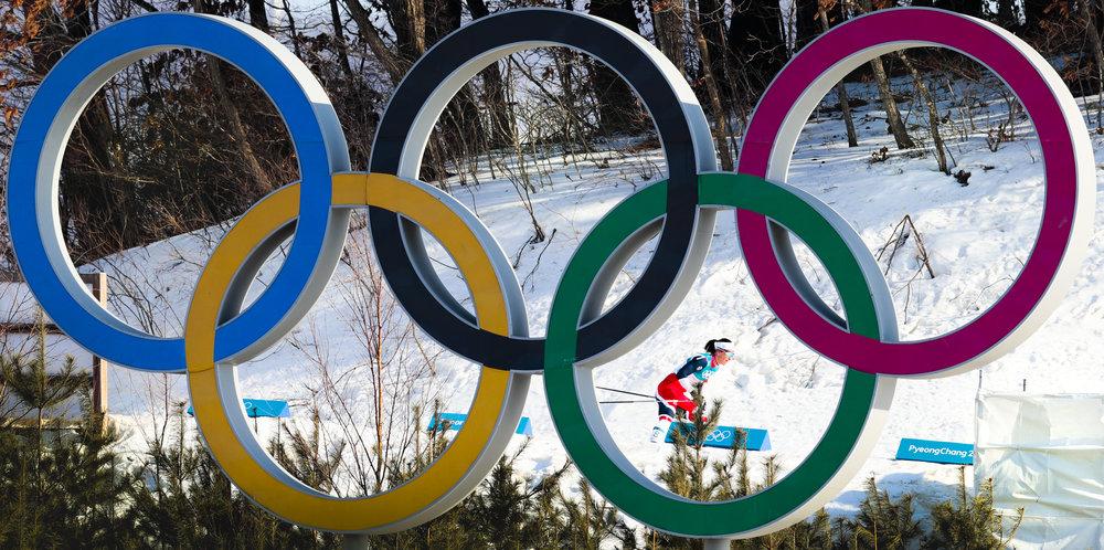 Marit Bjørgen ble tidenes vinterolympiske utøver da hun tok tre gull i Pyeongchang sist vinter. Foto: Lise Åserud/NTB Scanpix