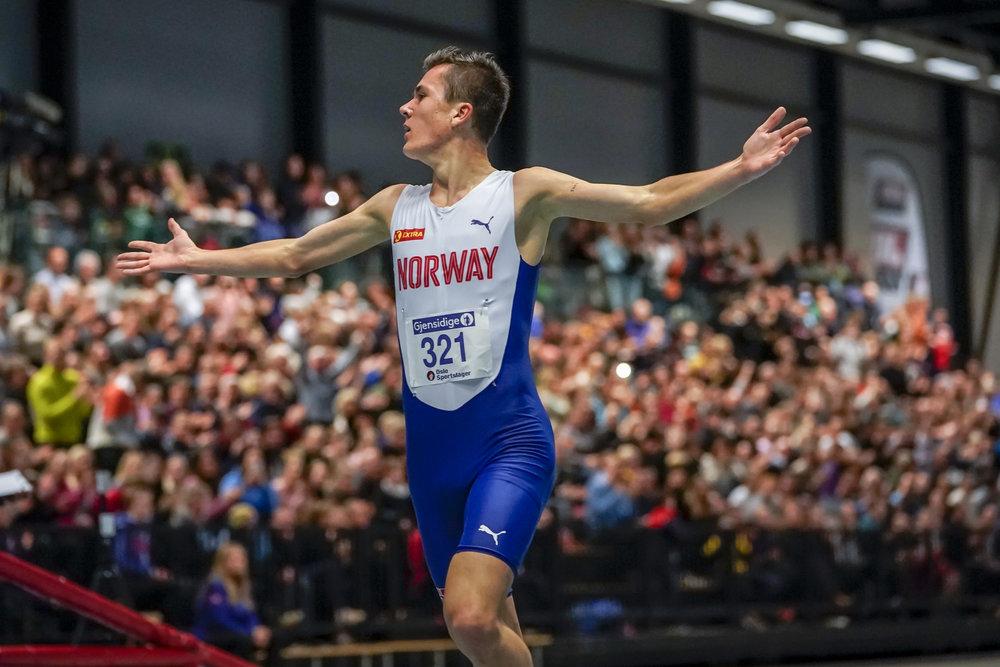 Jakob Ingebrigtsen blir en interessant norsk deltaker i VM i Doha. FOTO: Heiko Junge/NTB scanpix