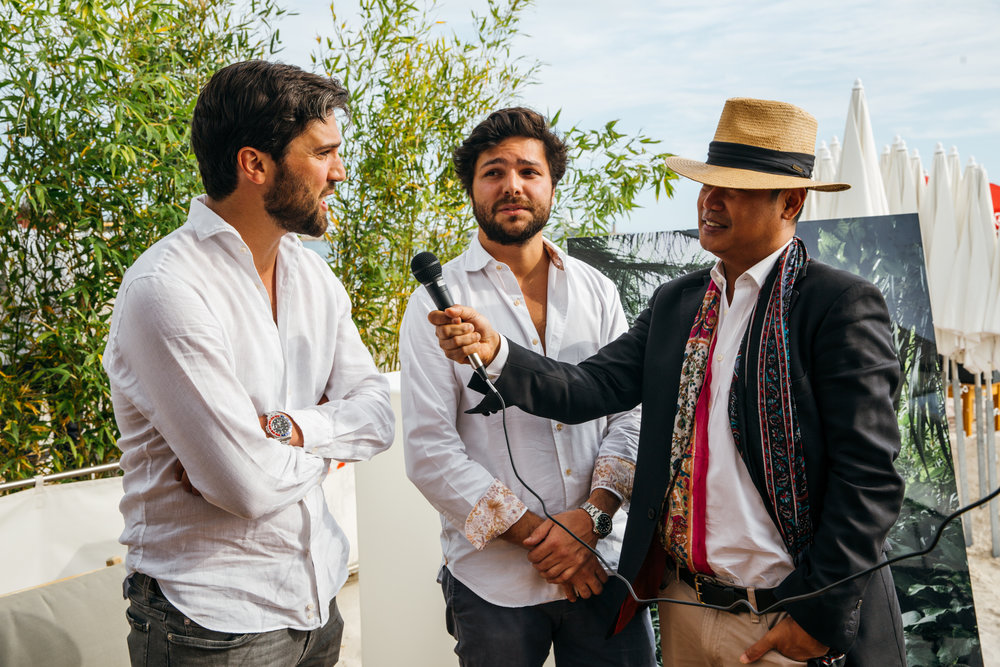 Tristan and Nelson Pirouz, Owners together with Jose Espinas from Neomania Magazine