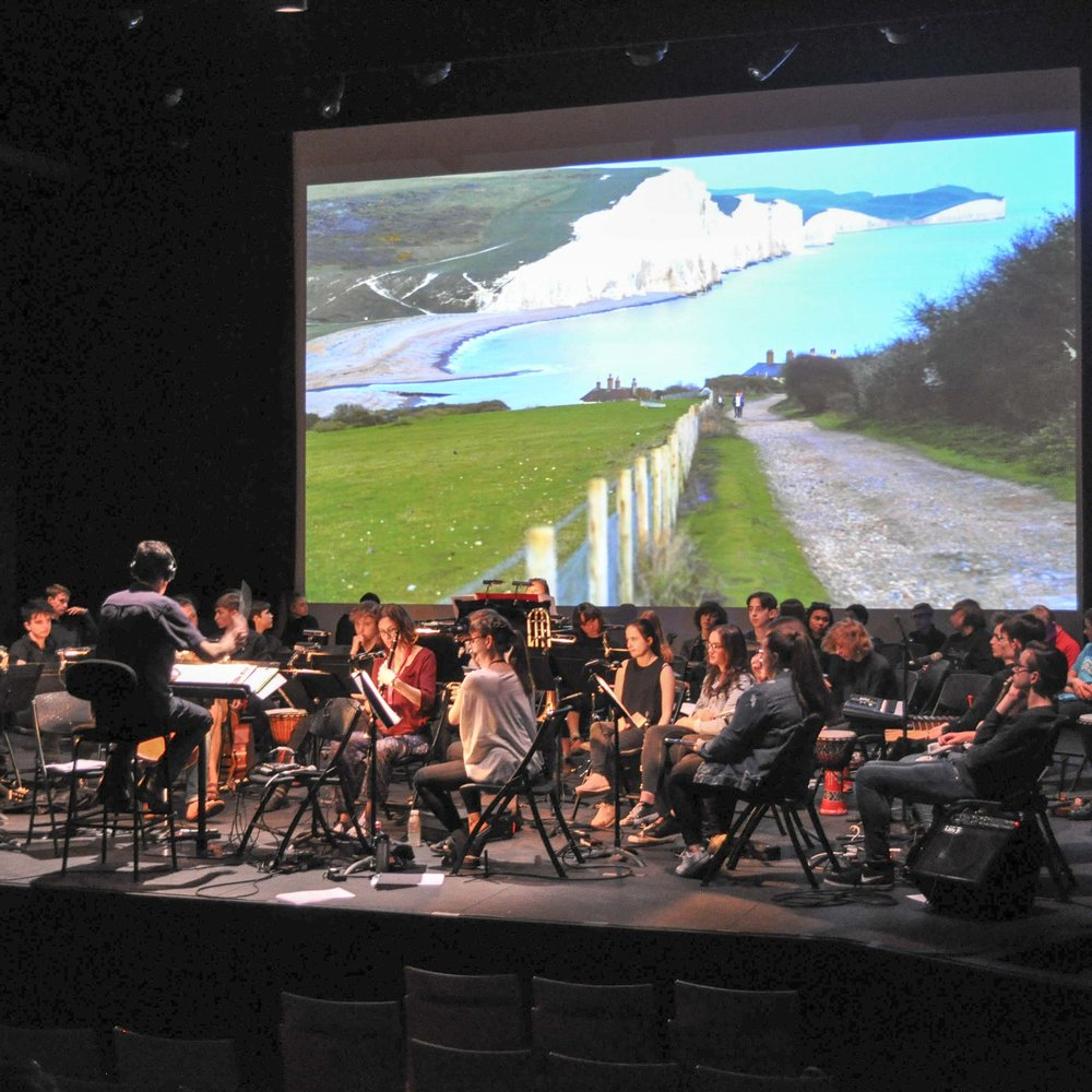 Orchestra of sound and light -