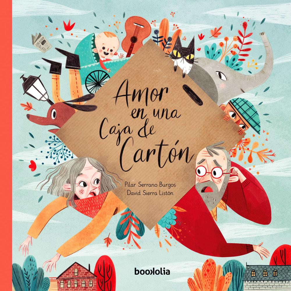Amor en una Caja de Cartón - 2018. Pilar Serrano Burgos. Bookolia.