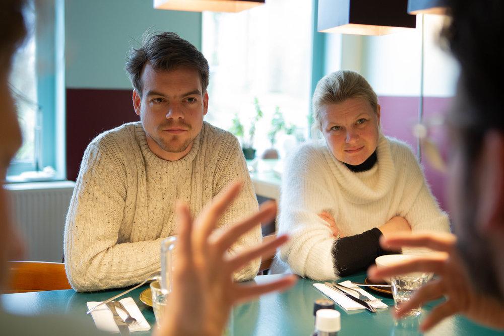 Joost van Schie en Annette van Gaalen.