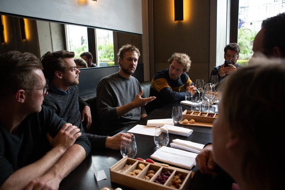 In gesprek met Joris Bijdendijk in RIJKS restaurant.