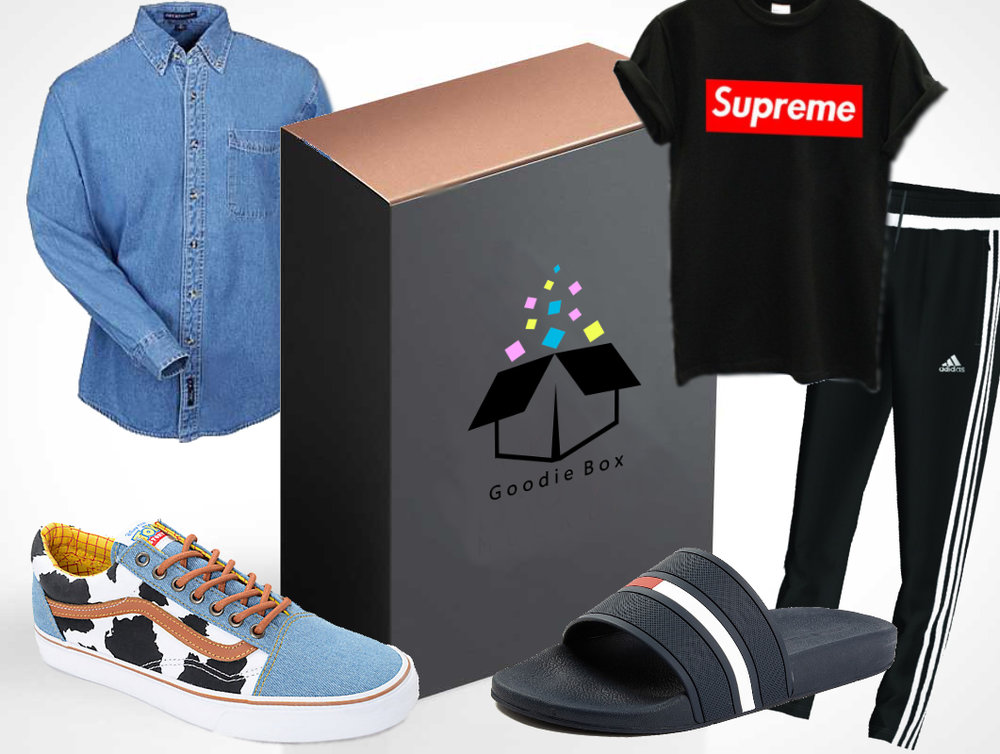 - How many times have you gone for the Supreme drop every Thursday but came away empty handed? It's bound to happen a lot when hundreds of thousands of other people are going for the same product. Well, here at GoodieBox we can offer you that Supreme tee plus 3 other products for $350.00 with our PlugBox.