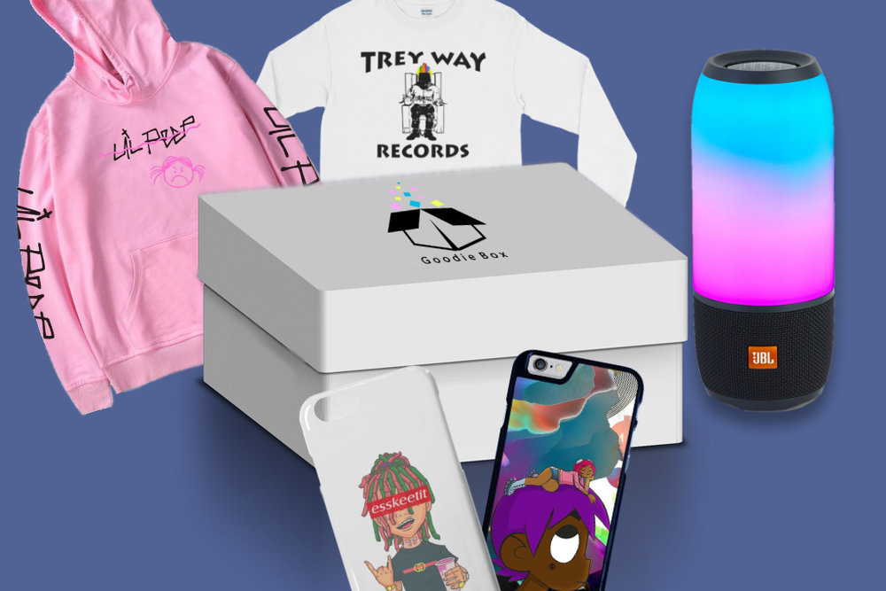 """- The BeatBox is a thing that all music lovers will fall in love with. Even if you're thinking """"I only love my bed and my momma, I'm sorry"""", this box will change that. In this package, you can expect to receive items ranging anywhere from cell phone accessories to top apparel of today's hit artists."""