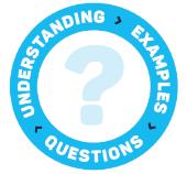 understanding examples questions ?