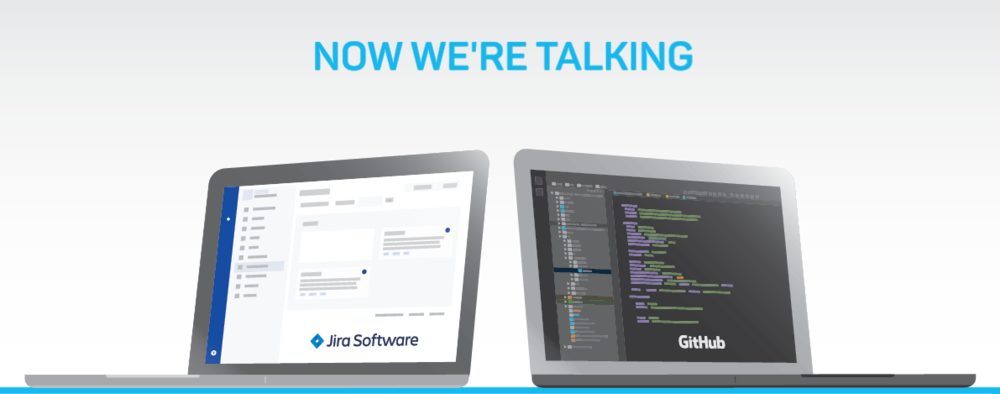 Now we're talking - Jira Software and Github laptops