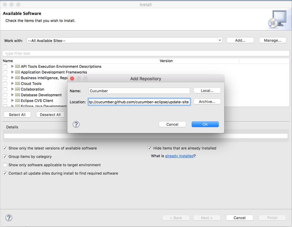 add repository screenshot - cucumber jvm tutorial