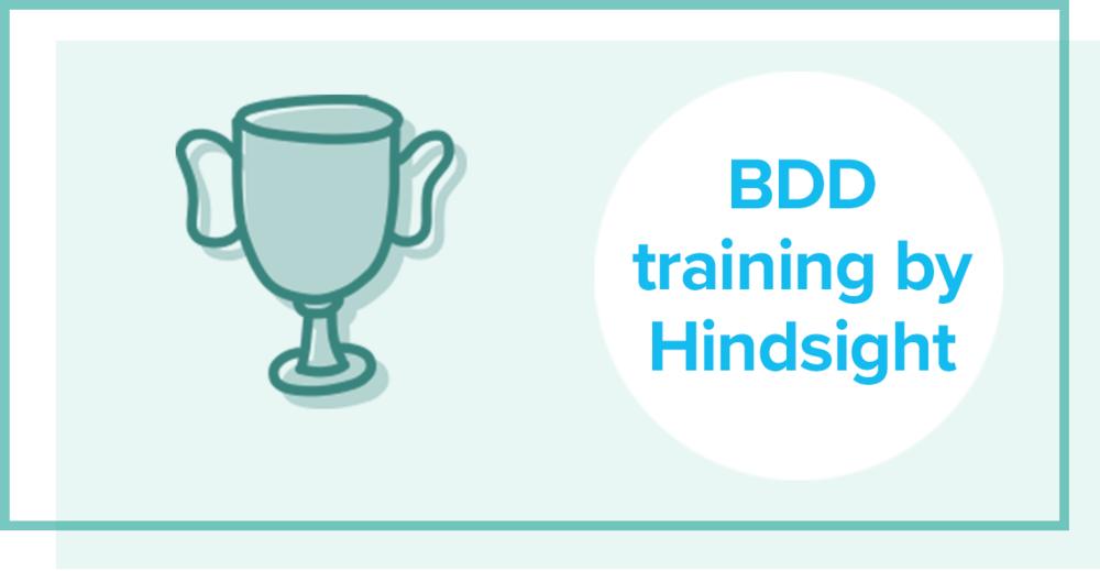 BDD training by hindsight